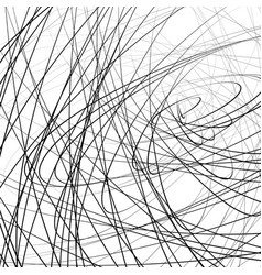 Random squiggly squiggle intersecting lines in vector