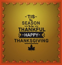 With thanksgiving and thanksgiving stuff vector