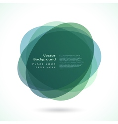 Abstract circle frame vector image