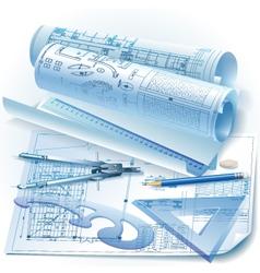 Engineering background vector