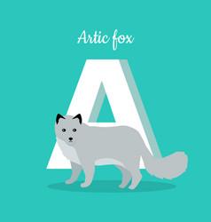 animals alphabet letter - a vector image