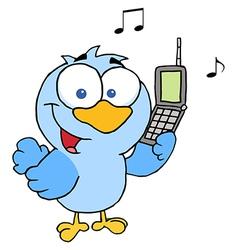 Bird Calling vector