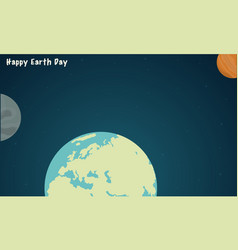 collection world style for earth day vector image