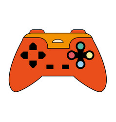 Colorful graphic control for video games vector