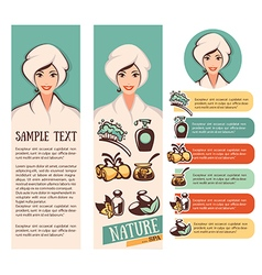Nature and spa vector