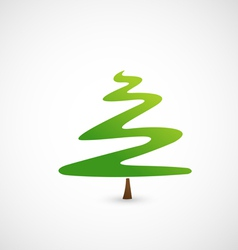 Pine tree icon vector