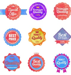 Watercolor Web stickers banners and labels Sale vector