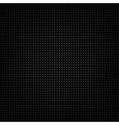 Black metallic texture vector image