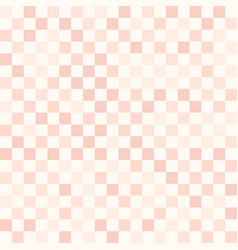 Rose checkered pattern seamless vector
