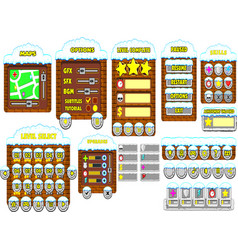 game gui 11 vector image