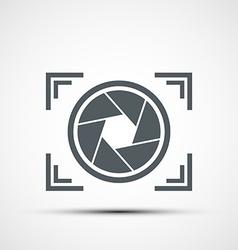 Icon camera vector