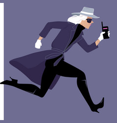 Mysterywoman run vector