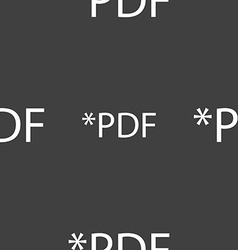 PDF file document icon Download pdf button PDF vector image