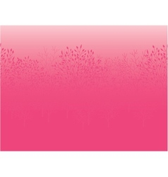 Pink dawn horizontal seamless pattern background vector