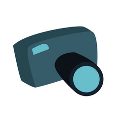 cartoon photo camera picture photographic vector image