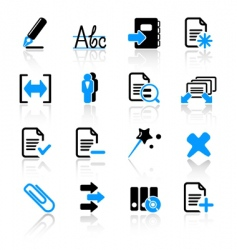 computer icons vector image vector image