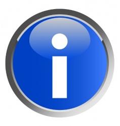 information symbol vector image vector image