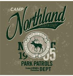 Northland adventures vector