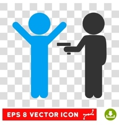 Children Crime Eps Icon vector image