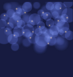 colorful background with bokeh lights vector image