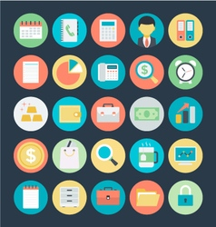 Finance Icons 1 vector image
