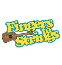 Fingers to strings vector