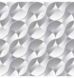 geometric petals vector image