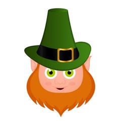 leprechaun cartoon character vector image