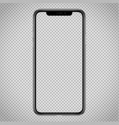 New smartphone template for web interface vector