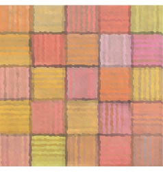 Striped mixed patchwork blurry square pattern vector