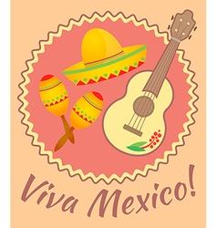 Viva mexico vector
