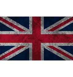 British flag grunge vector
