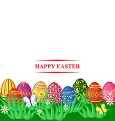 easter color vector image vector image