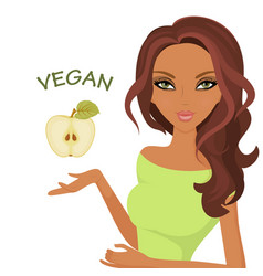 world day of vegetarianism isolated white vector image