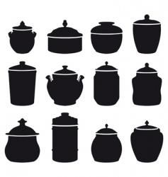 jars vector image vector image
