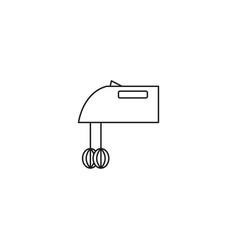 mixer line icon vector image vector image