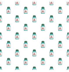 Bottle pest pattern seamless vector