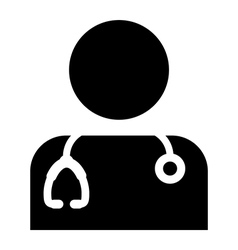 Doctor Physician Nurse Medical Healthcare Icon vector image