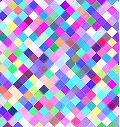 Multicolor abstract square background design vector