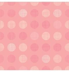 vintage pastel salmon pink bagirl dots vector image