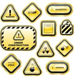 Warning vector