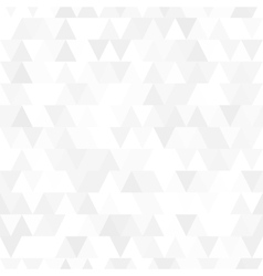 White triangle seamless pattern vector image