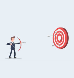 aim at the target vector image