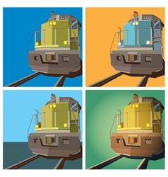 locomotive vector image