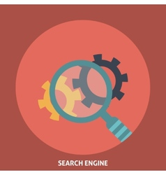 Search Engine vector image vector image