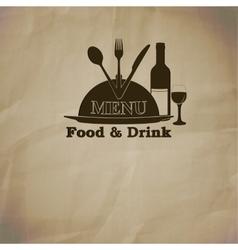 pattern restaurant menu covers vector image