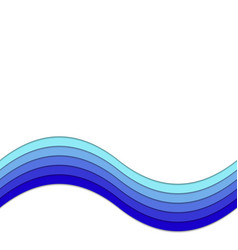 Abstract background from curves stripes - graphic vector