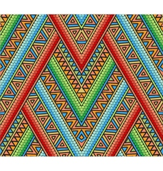 Abstract ethnic seamless pattern vector image