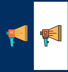 announce digital loudspeaker marketing megaphone vector image