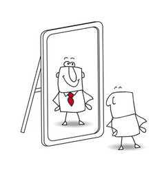 be yourself joe vector image